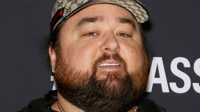 Chumlee smiling