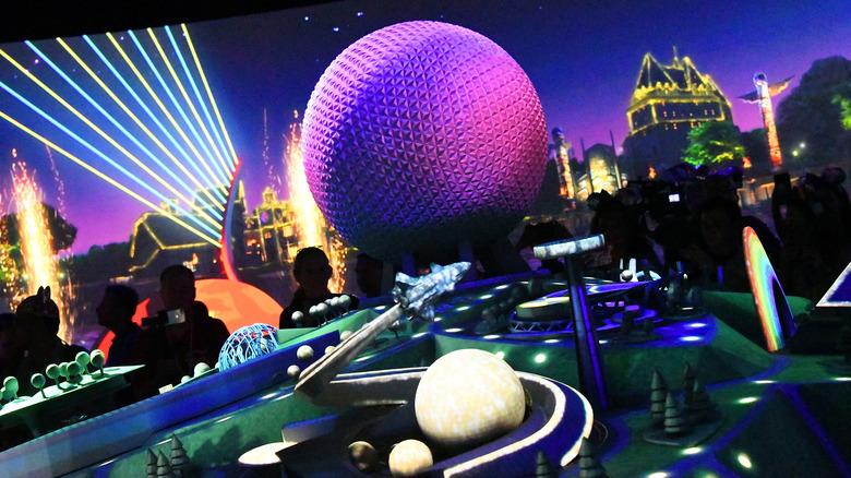 Model of future Epcot updates, as seen at Walt Disney World