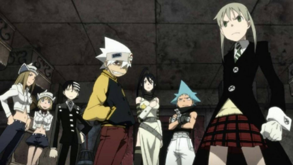 The cast of Soul Eater ready to absorb some souls
