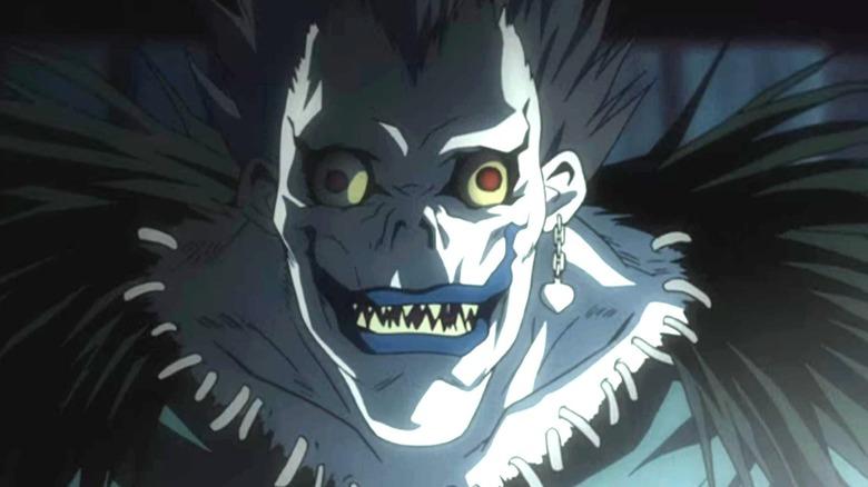 Ryuk smiling
