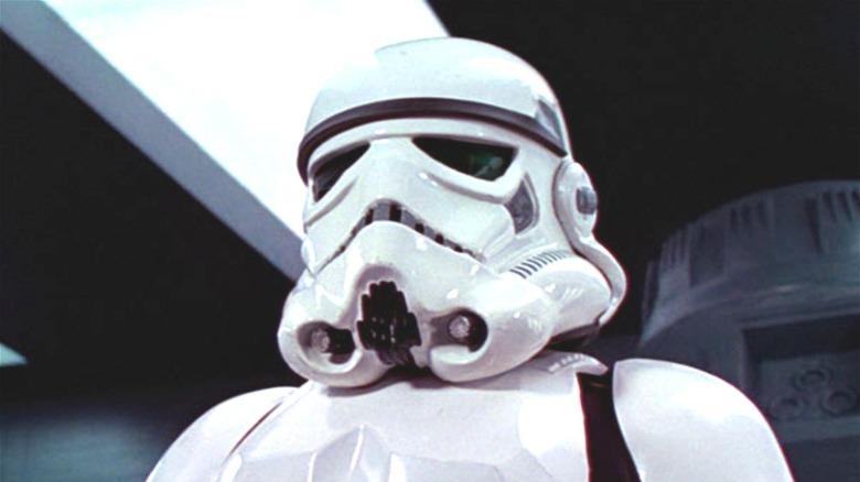 "A Stormtrooper in ""Star Wars"""