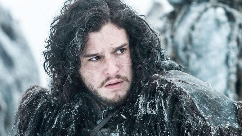 Jon Snow in Night's Watch on Game of Thrones