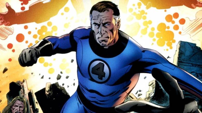 Reed Richards of Marvel Comics' Fantastic Four