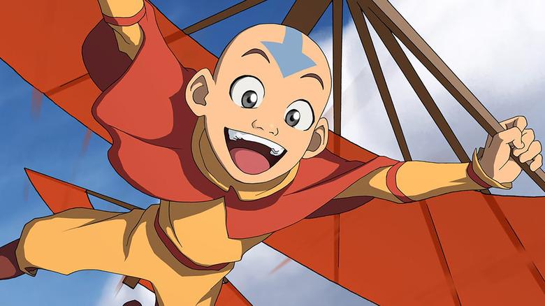 Zach Tyler Eisen as Aang on Avatar: The Last Airbender