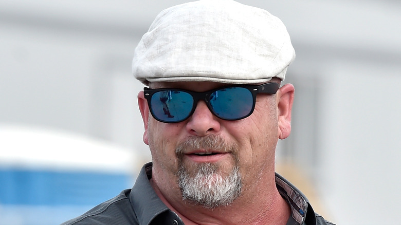 Rick Harrison with hat and sunglasses