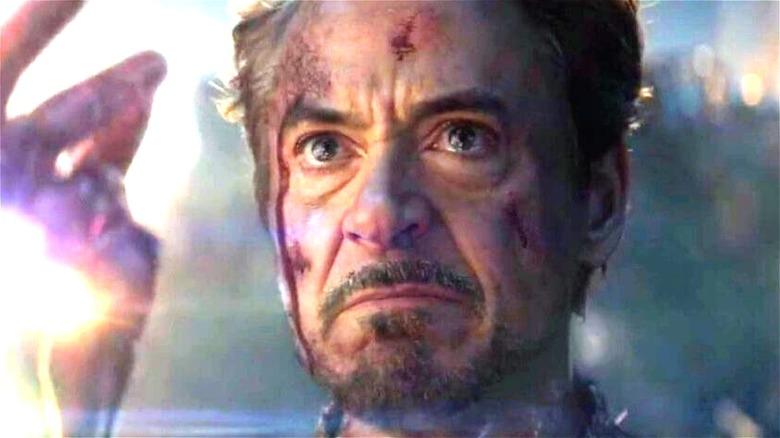 Tony Stark snapping
