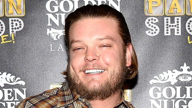 Corey Harrison at an event