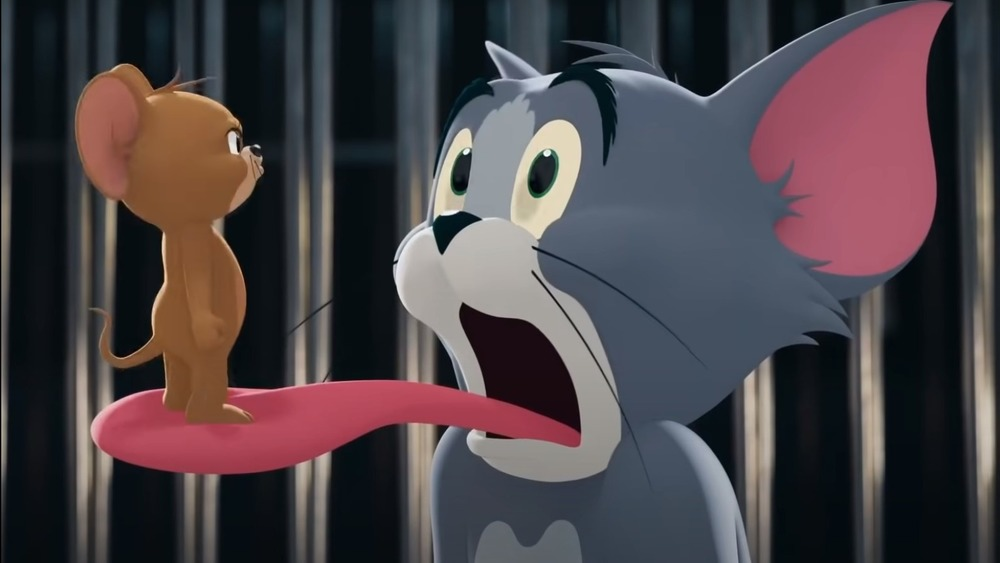 Tom and Jerry facing off