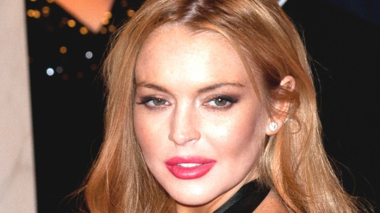 Lindsay Lohan, red carpet