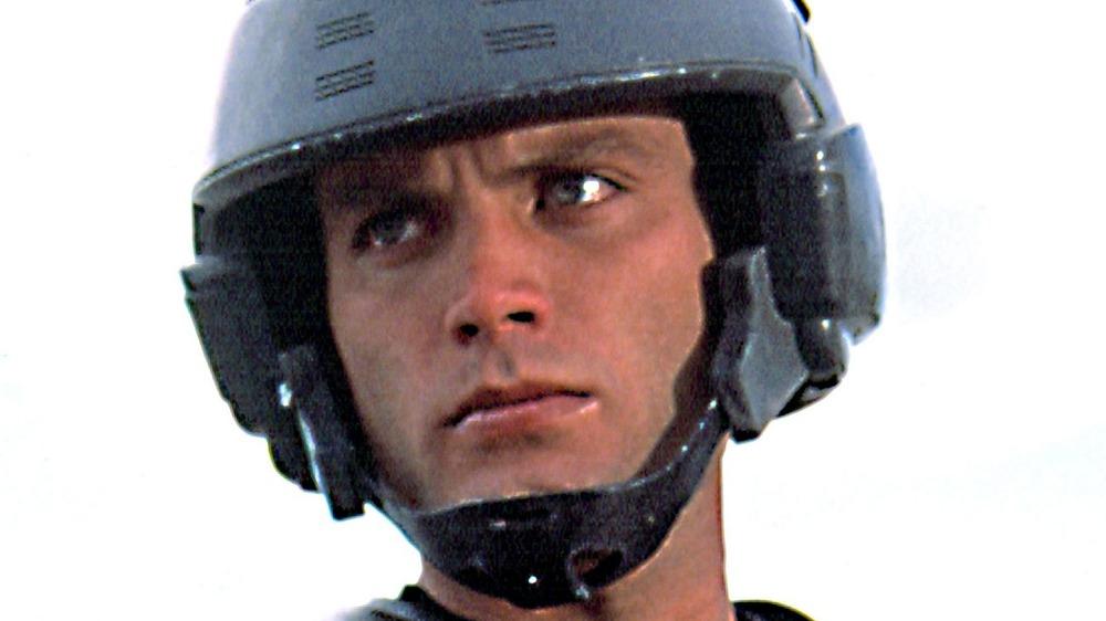 Casper Van Dien Johnny Rico helmet glaring