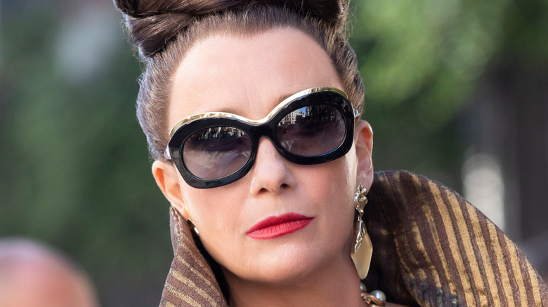 Emma Thompson as Baroness von Hellman in Cruella