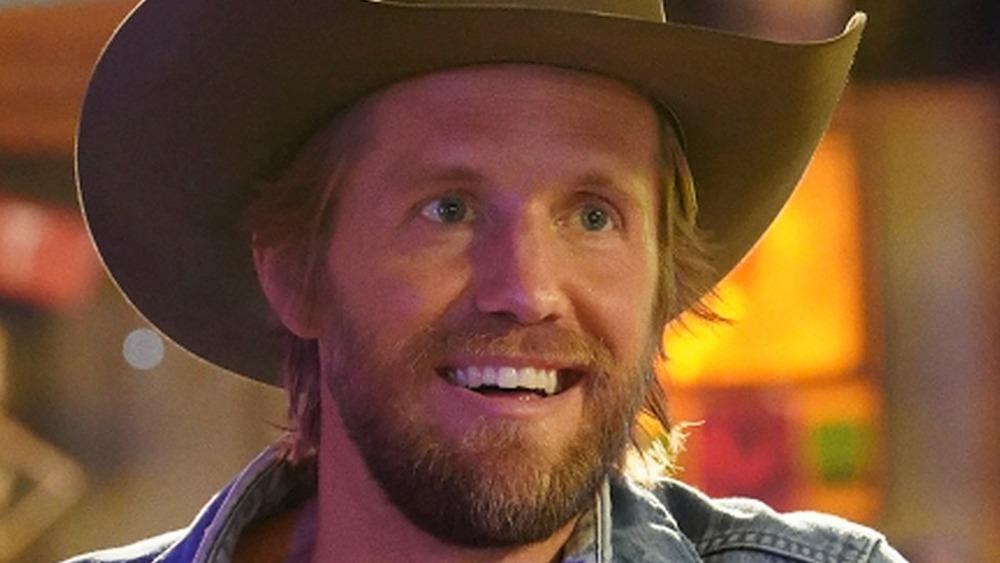 Matt Barr Hoyt Rawlins smiling