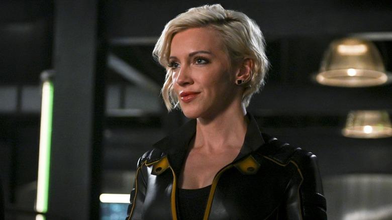 Katie Cassidy as Laurel Lance Black Canary on Arrow