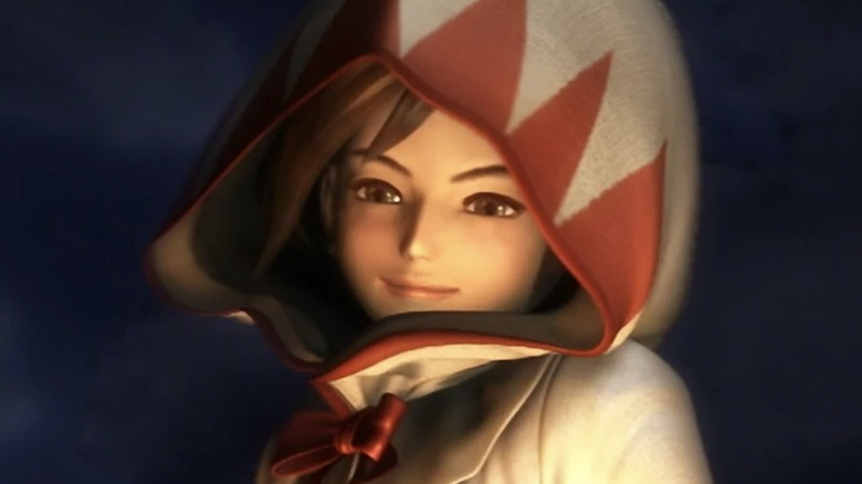 Princess Garnet/Dagger smiling