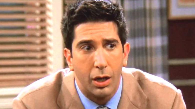 Ross Geller surprised