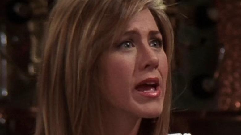 Rachel letting Gunther down