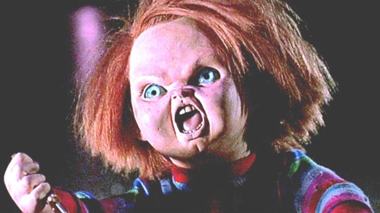 Chucky being Chucky