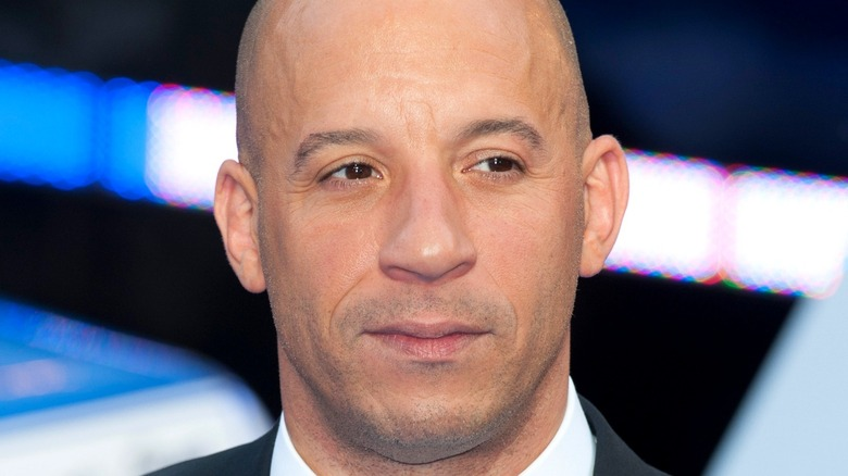 Vin Diesel poses for the cameras