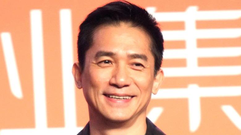 Tony Leung smiling