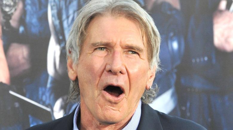 Harrison Ford speaking