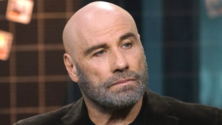 John Travolta bearded