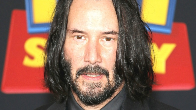 Keanu Reeves at Toy Story 4 event