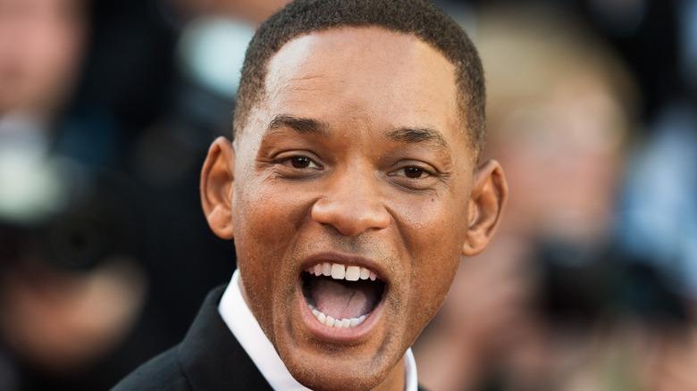 Will Smith hamming it up