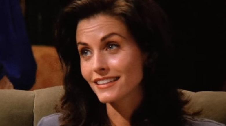 Monica Geller smiling