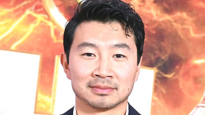 Simu Liu at Shang Chi event