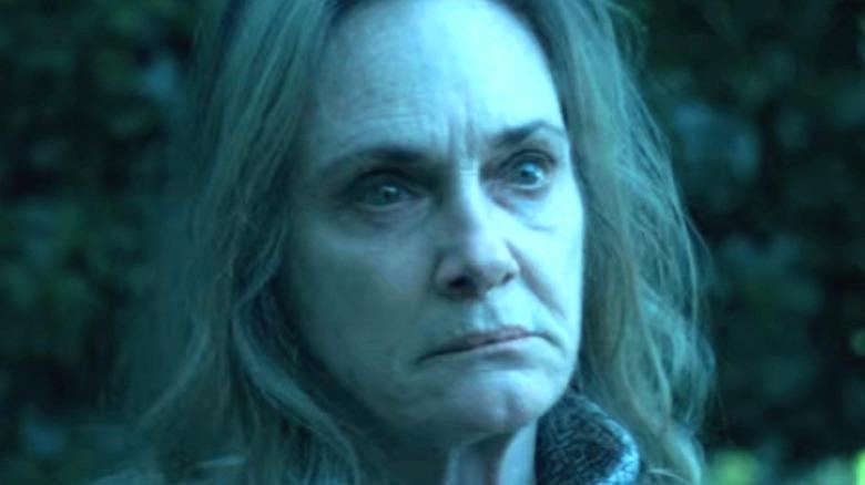 Darlene looking intense