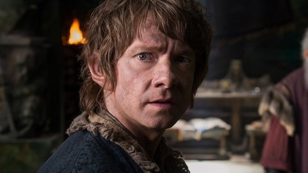 Martin Freeman as Bilbo Baggins in The Hobbit: The Battle of the Five Armies