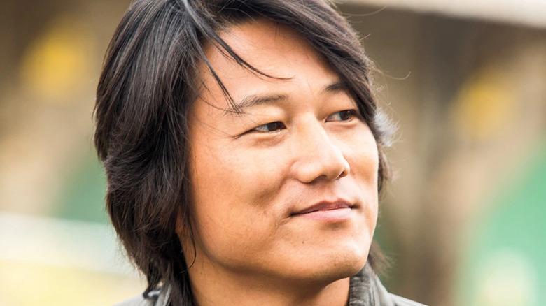 Sung Kang smiling