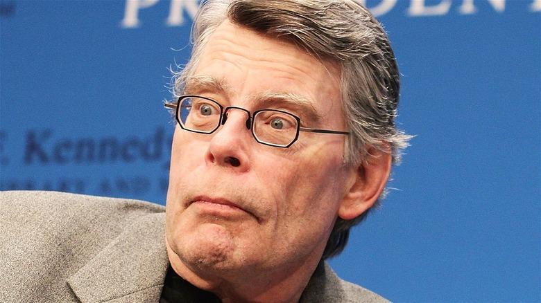 Stephen King Shocked Look