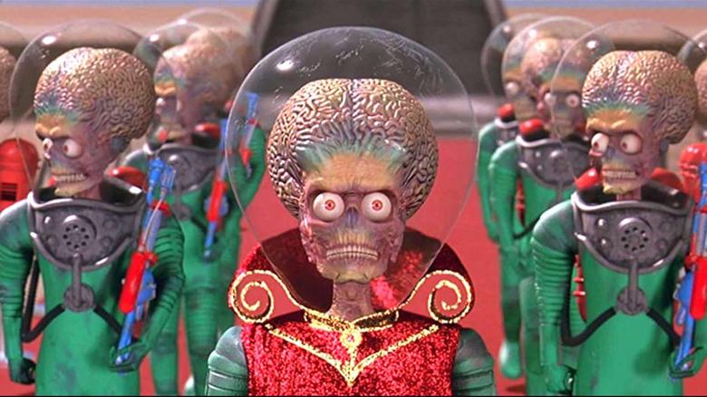 The Martians of Mars Attacks!