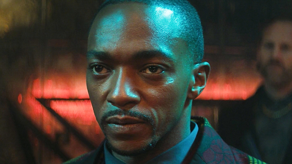 Anthony Mackie The Falcon and the Winter Soldier episode 3