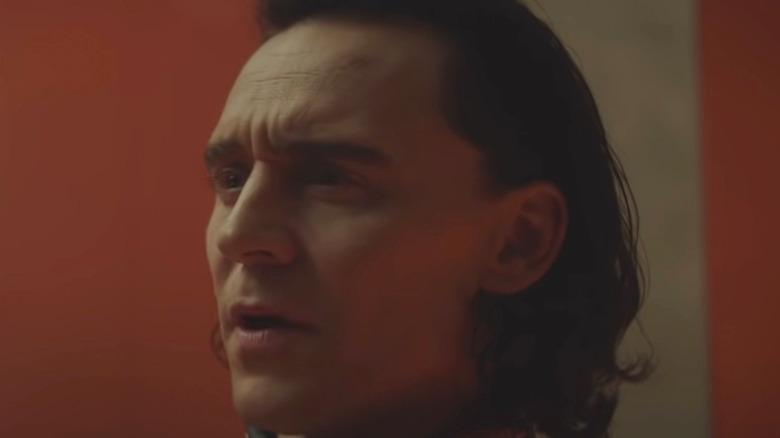 Tom Hiddleston Loki surprised