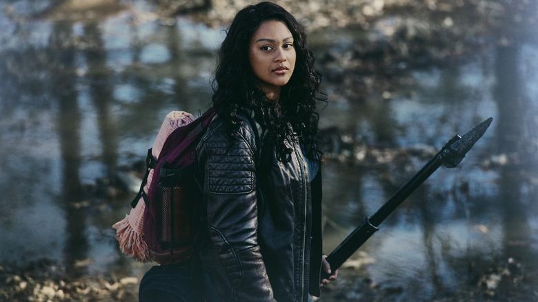 Aliyah Royale as Iris on The Walking Dead: World Beyond