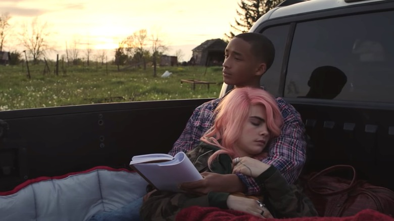 Cara Delevingne and Jaden Smith in Life in a Year