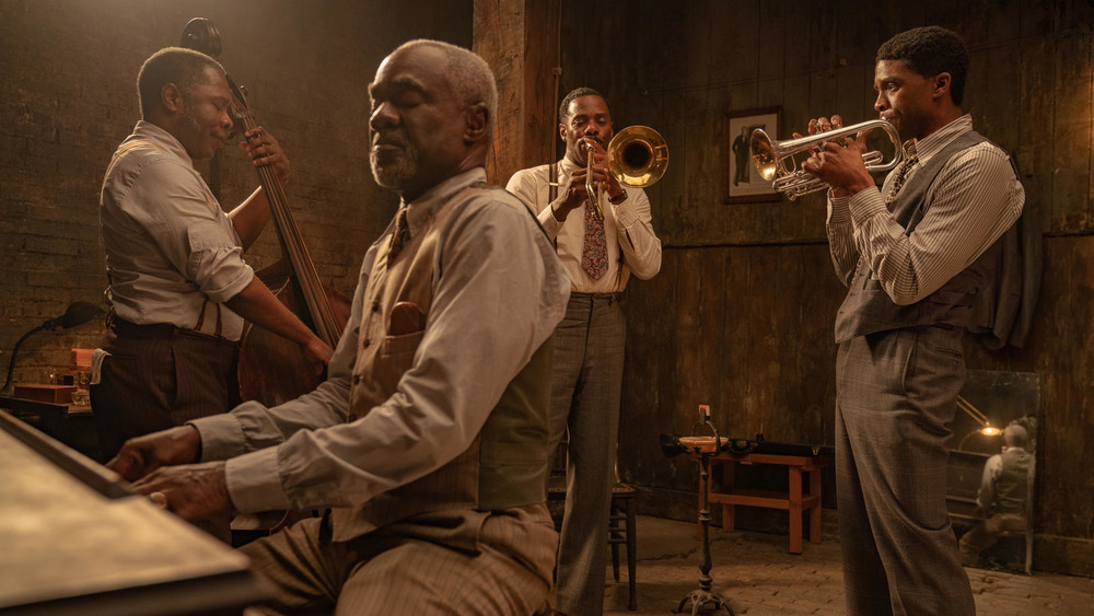The session musicians of Ma Rainey's Black Bottom