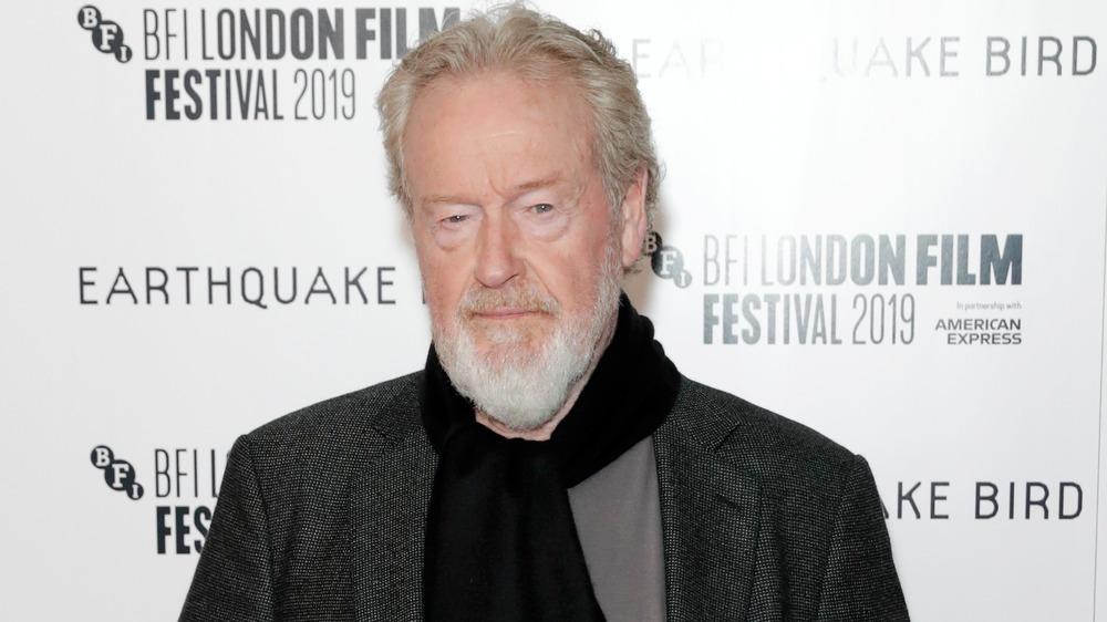 Ridley Scott attends Earthquake Bird premiere