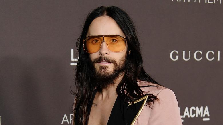 Jared Leto wearing sunglasses