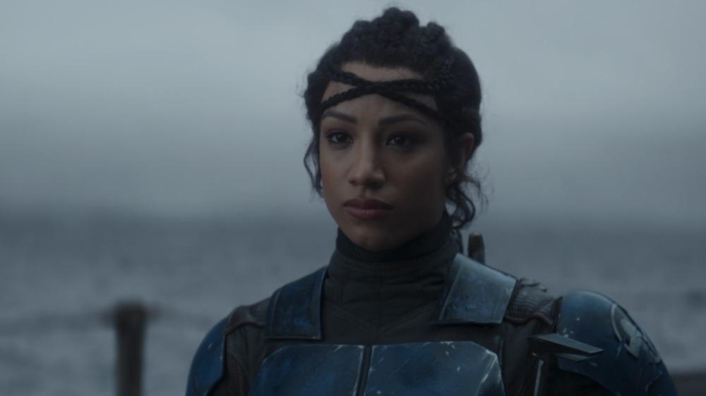 Sasha Banks as Koska Reeves on The Mandalorian