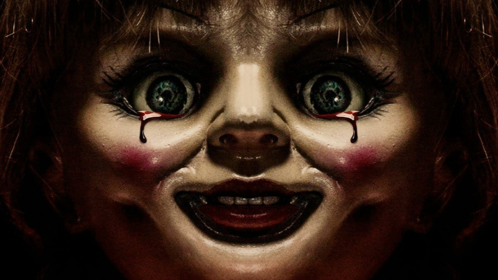 Annabelle crying blood