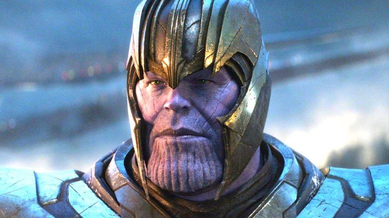 Thanos looking grim