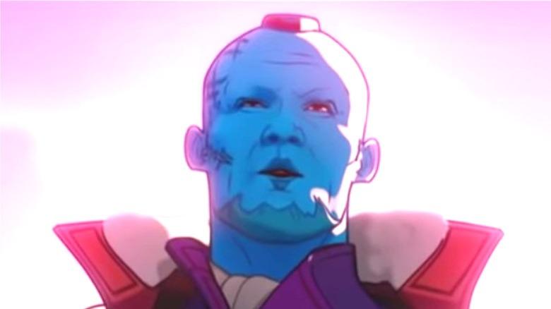 Animated Yondu whistling