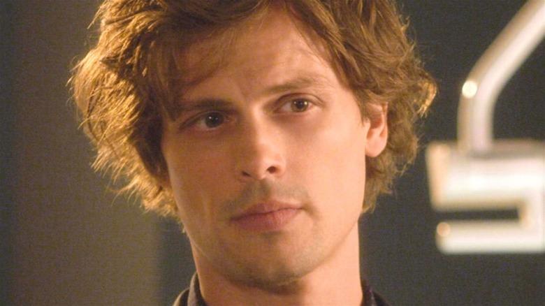 Spencer Reid looking on