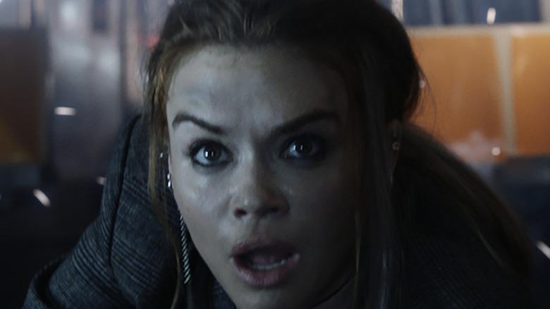 Rachel looking shocked