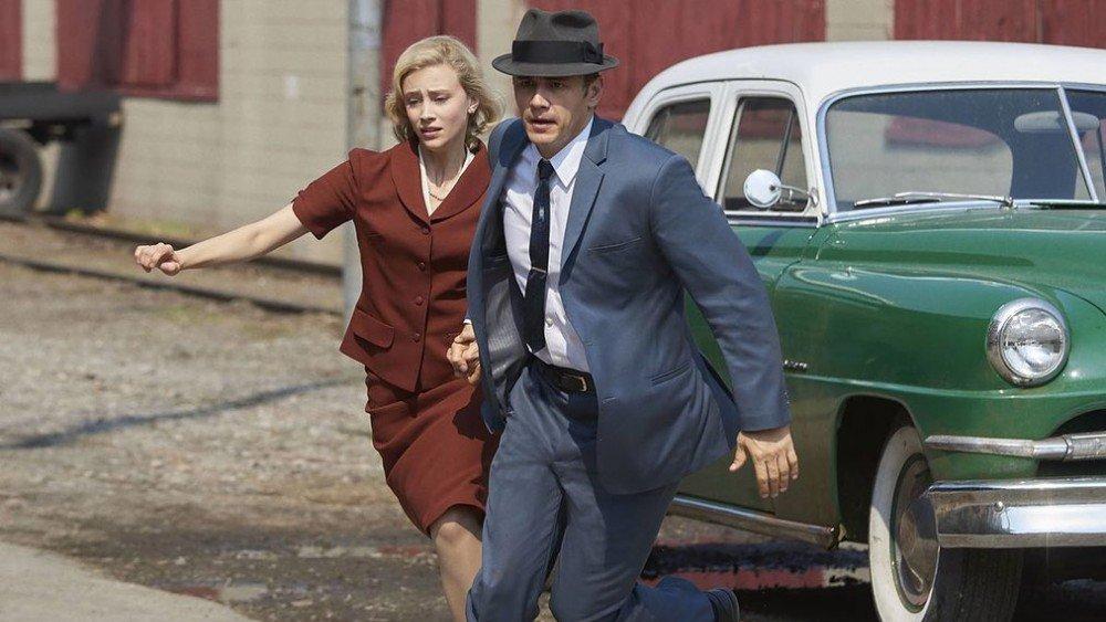 Sarah Gadon and James Franco in Hulu's 11.22.63