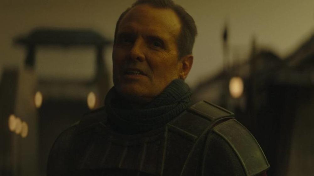 Michael Biehn plays Lans on The Mandalorian