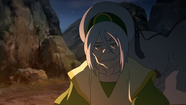 Toph Beifong in The Legend of Korra